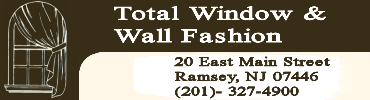 Window Treatments in Bergen County NJ--logo for Total Wall and Window Fashion